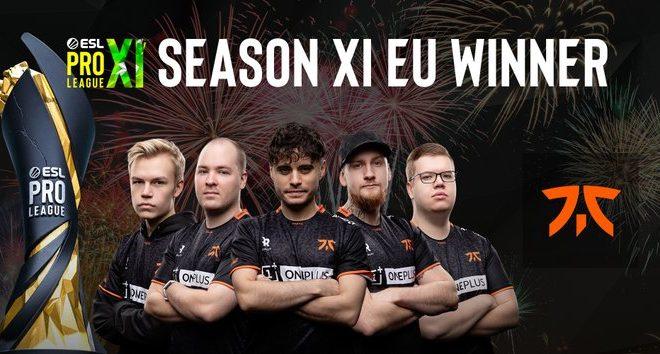 Fotos de Fnatic es el Campeón de la ESL Pro League Season 11: Europa de Counter-Strike: Global Offensive