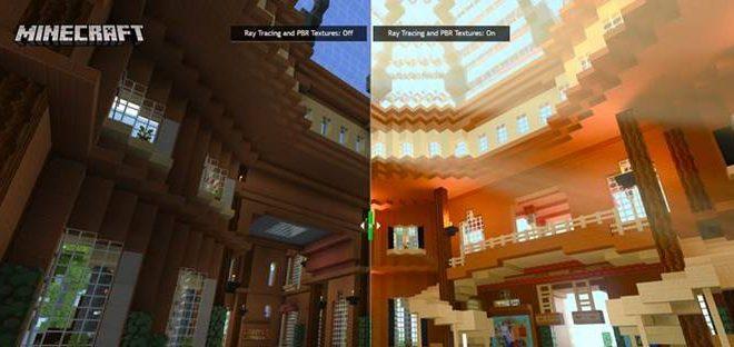 Fotos de NVIDIA Presenta un Adelanto de los Nuevos Mundos de Minecraft Desarrollados con la Tecnología Ray Tracing