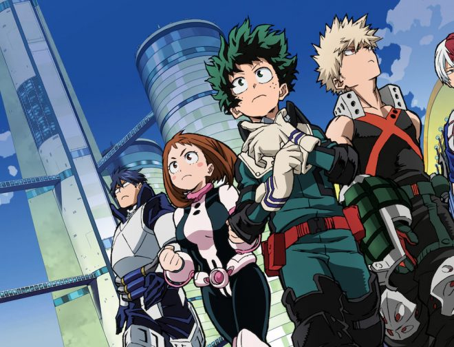Fotos de Primer Afiche y Avance de la Quinta Temporada del Anime My Hero Academia