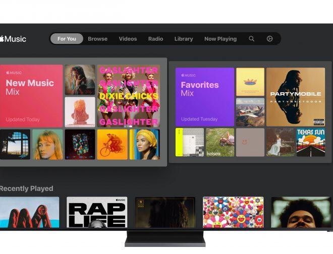 Fotos de Samsung Ofrece Apple Music con sus Televisores Inteligentes