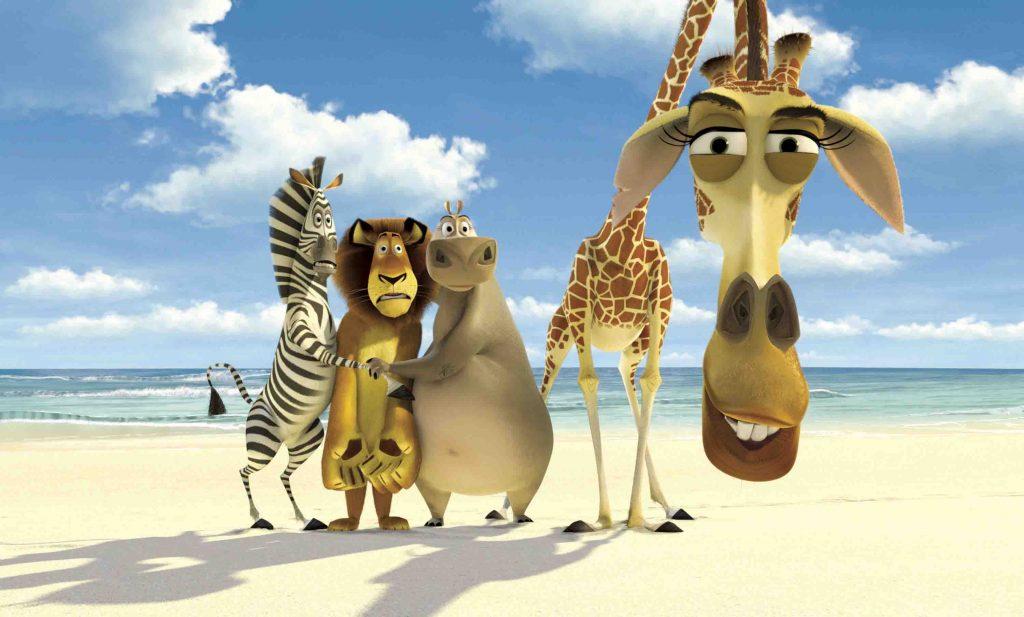 """Foto de Sagas Animadas En Cinecanal: """"Madagascar"""""""