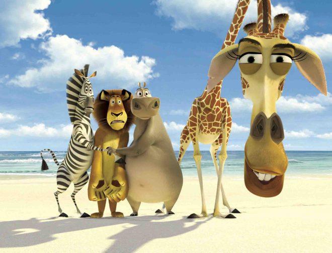 "Fotos de Sagas Animadas En Cinecanal: ""Madagascar"""