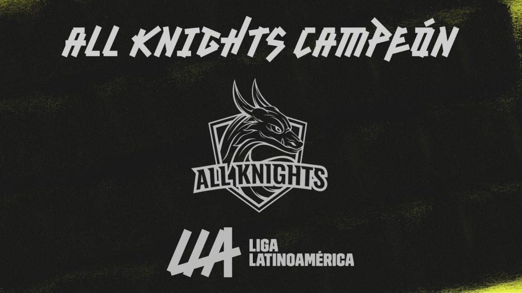 Foto de All Knights Obtiene su Primer Título de la Liga Latinoamérica de League of Legends