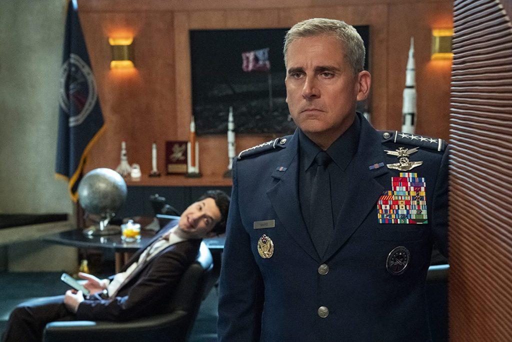 Foto de Divertido Avance de Fuerza Espacial, Nueva Serie de Netflix con Steve Carell