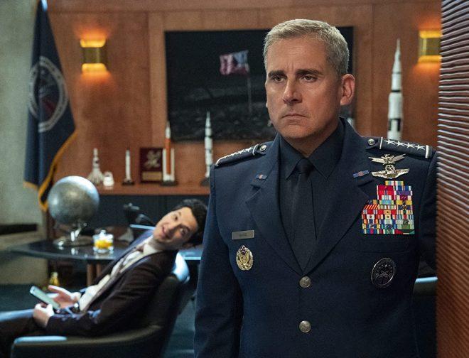 Fotos de Divertido Avance de Fuerza Espacial, Nueva Serie de Netflix con Steve Carell