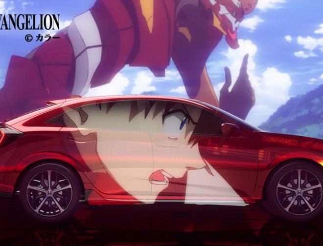 Fotos de El Nuevo Honda Civic Hatchback, Tendrá una Versión Basada en Evangelion