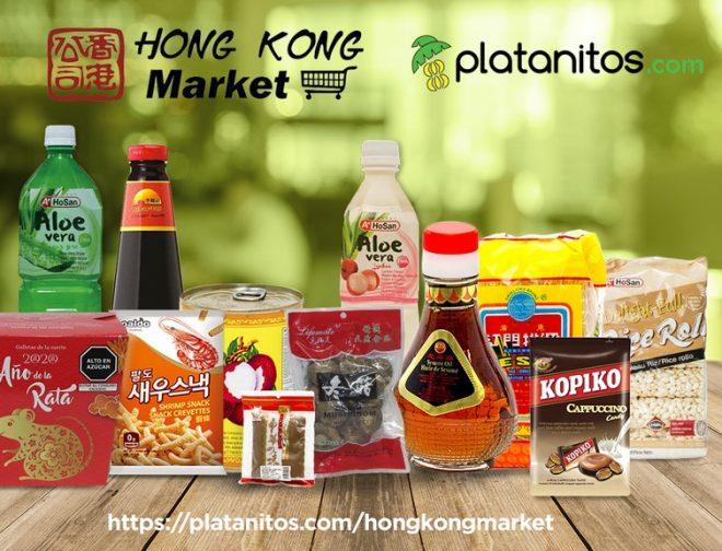 Fotos de Platanitos.com Incluye a Hong Kong Market en su Web de Pedidos Online