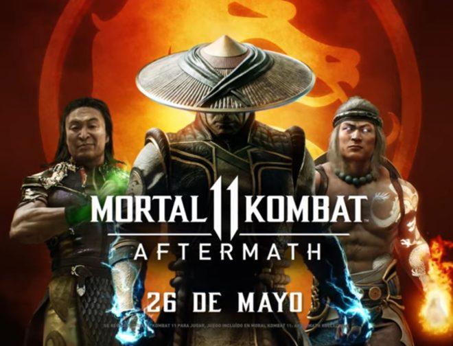 Fotos de Tráiler de Aftermath el nuevo DLC de Mortal Kombat 11, que Amplía su Historia
