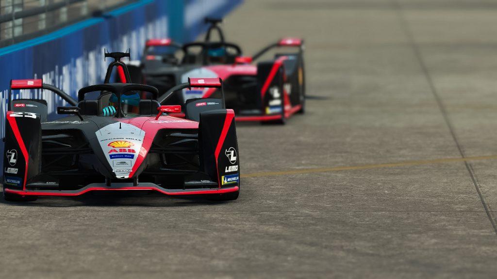 Foto de Nissan e.dams obtiene su primera victoria en la serie electrónica esports de Formula E
