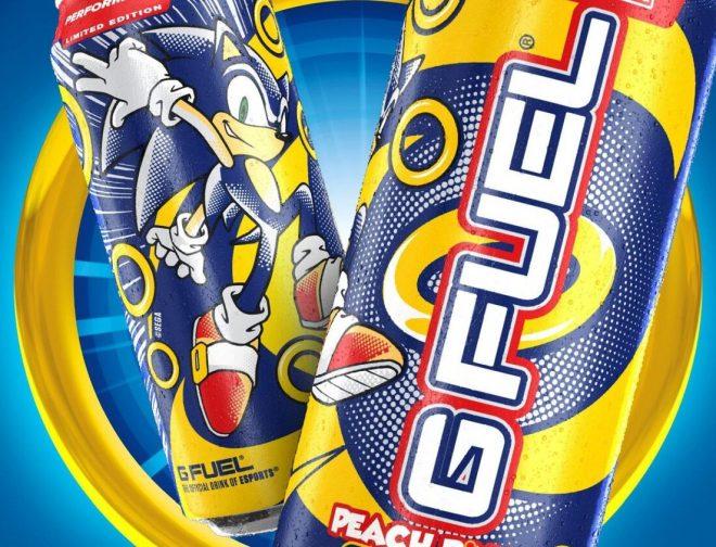 Fotos de Sonic the Hedgehog Lanza su Bebida Energética, Junto a G FUEL