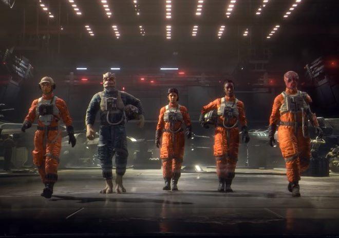Fotos de Estupendo Tráiler para el Nuevo Videojuego de Star Wars: Squadrons