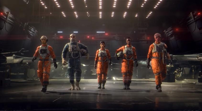 Foto de Estupendo Tráiler para el Nuevo Videojuego de Star Wars: Squadrons