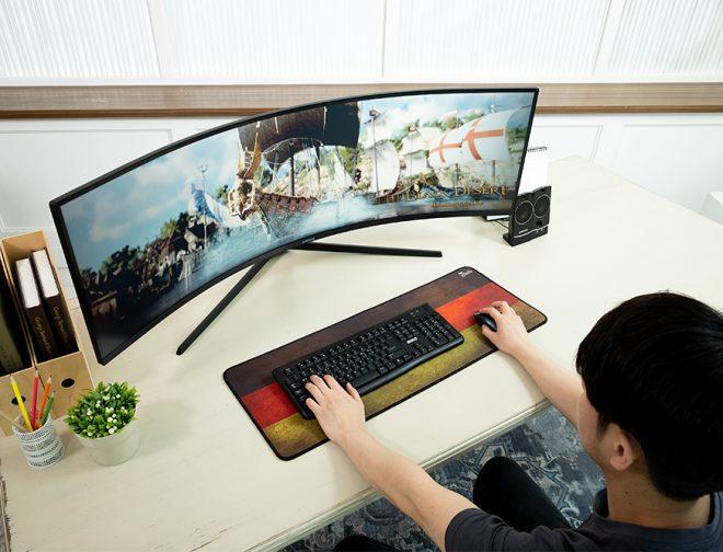Fotos de Samsung lanza el Odyssey G9, monitor curvo para juegos con el mayor rendimiento del mundo