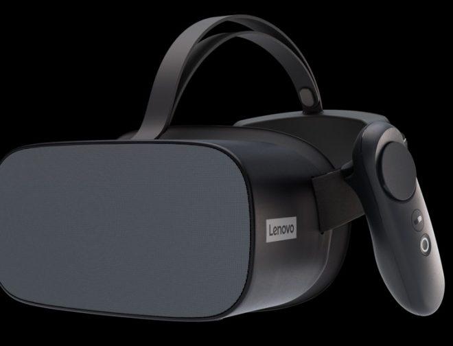 Fotos de El visor autónomo Lenovo Mirage VR S3 con ThinkReality está listo para empoderar a las empresas globales y a sus trabajadores
