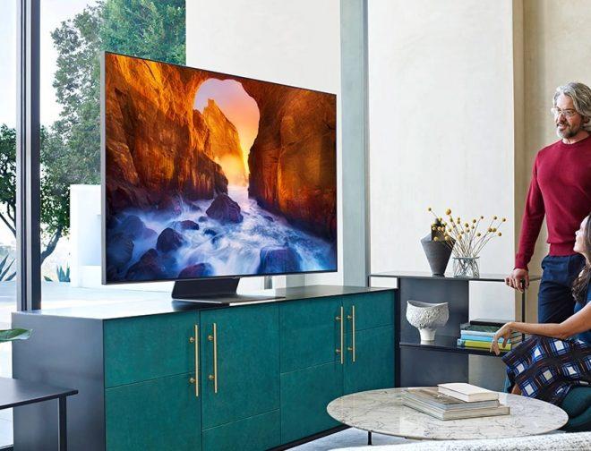 Fotos de Los TV QLED de Samsung reciben verificación de seguridad