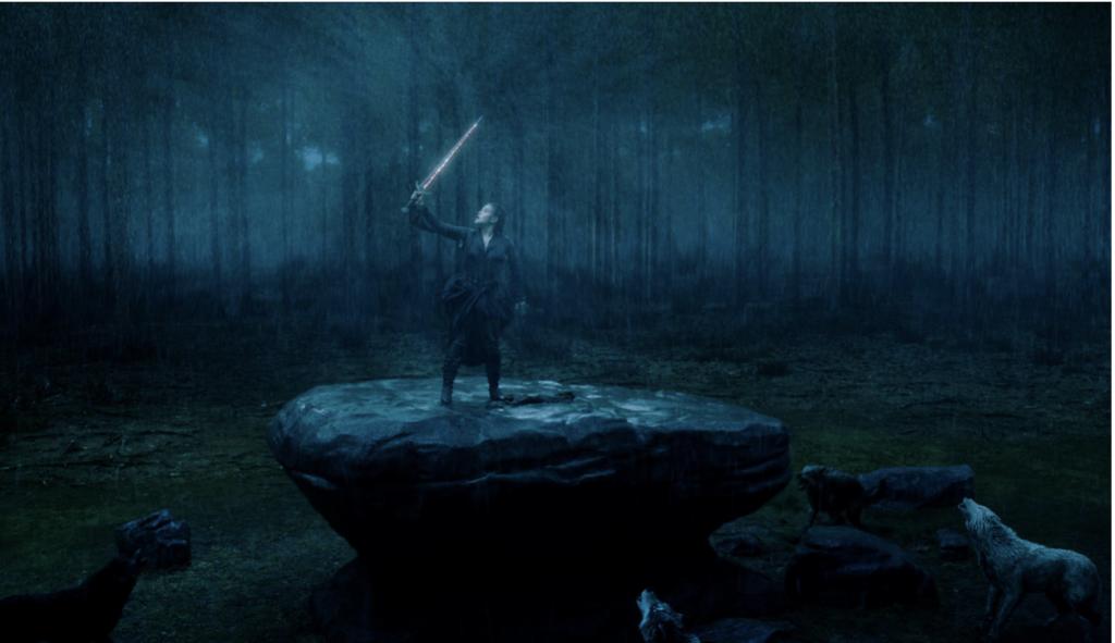 Foto de La Espada Excalibur, Hace su Aparición en el Nuevo Tráiler de Maldita