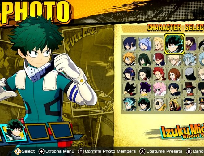 Fotos de Bandai Namco Anuncia el Modo Foto del Videojuego My Hero One's Justice 2