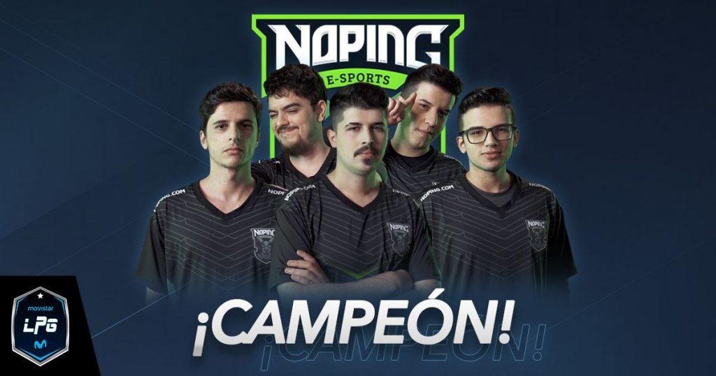 Foto de El Equipo Brasileño de NoPing Esports es el Campeón de la Movistar Liga Pro Gaming Season 4 de Dota 2
