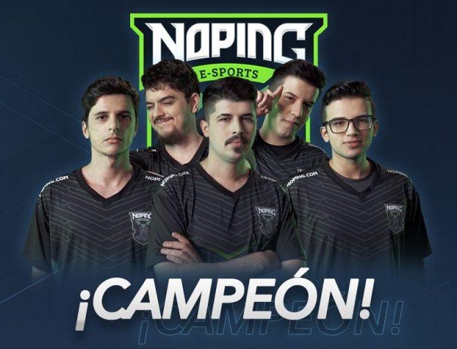 Fotos de El Equipo Brasileño de NoPing Esports es el Campeón de la Movistar Liga Pro Gaming Season 4 de Dota 2