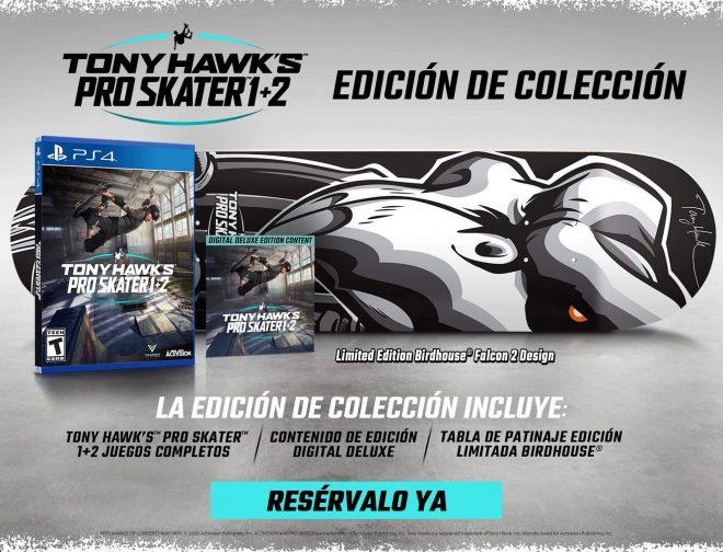 Fotos de La Edición de Colección de Tony Hawks Pro Skater 1 y 2, Llegará a Perú
