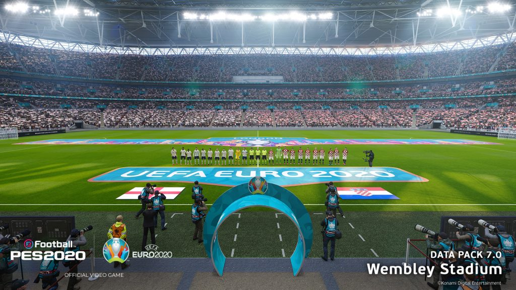 Foto de La actualización de UEFA EURO 2020 para eFootball PES 2020 ya está Disponible