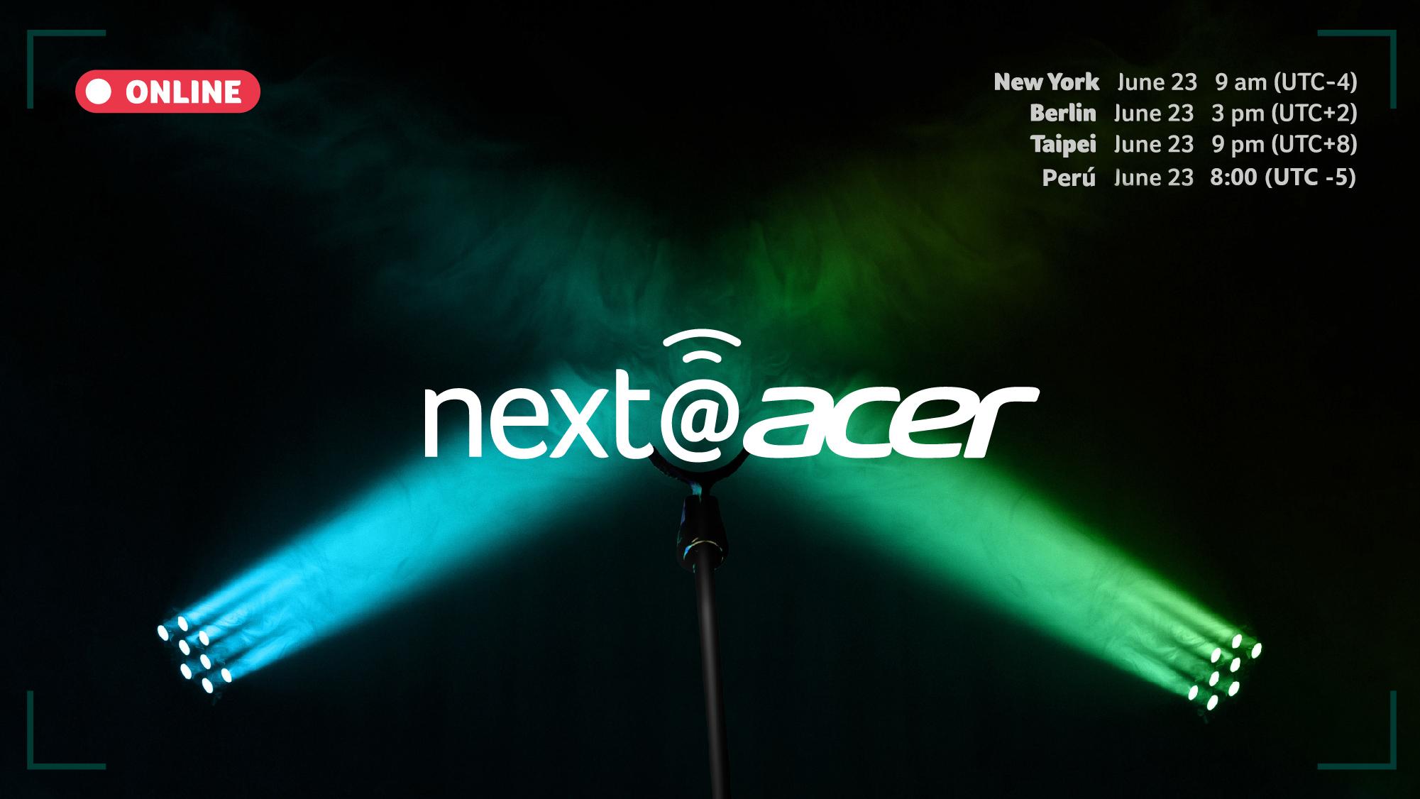 Foto de Acer anuncia su evento global next@acer 2020