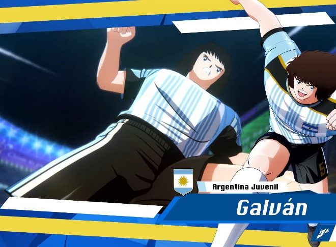 Fotos de La selección argentina juvenil llega a Captain Tsubasa: Rise Of New Champions