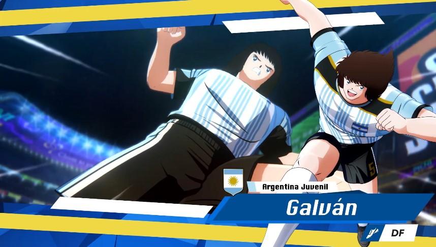 Foto de La selección argentina juvenil llega a Captain Tsubasa: Rise Of New Champions