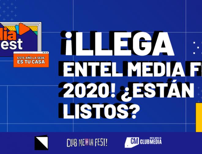 Fotos de Entel Media Fest 2020 Se Renueva: Este Año la Sede es tu Casa