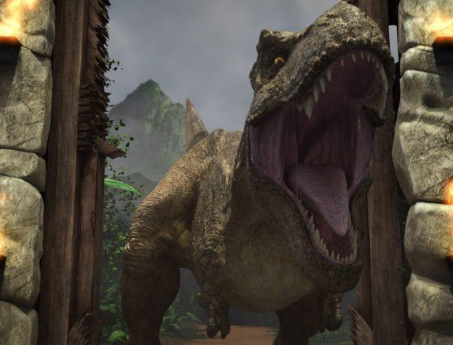 Fotos de Trailer Oficial y Debut del Sitio Interactivo de la Serie Jurassic World Campamento Cretácico