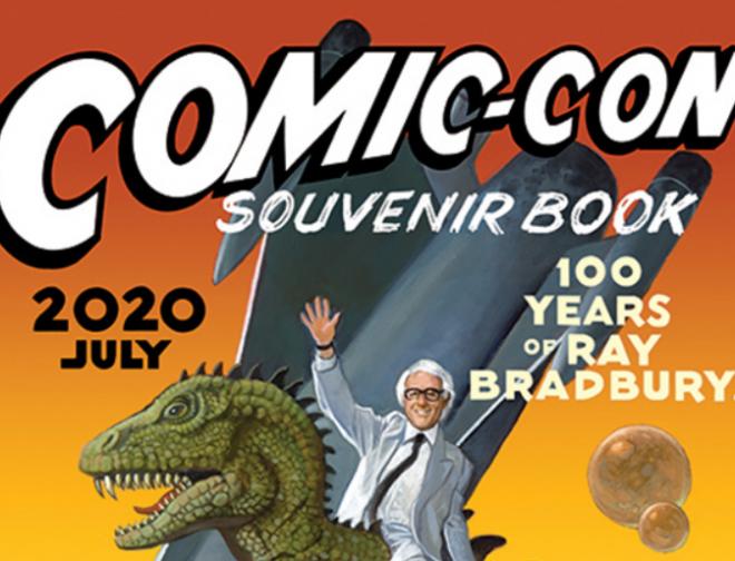 Fotos de Descarga Gratis, el Souvenir Book de la Comic-Con 2020