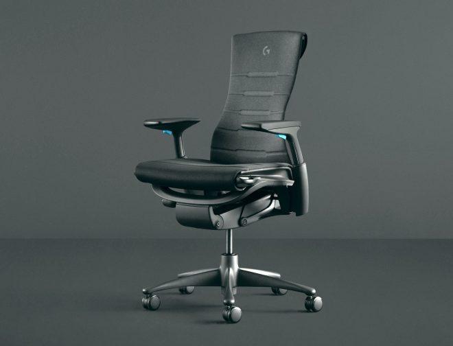 Fotos de Logitech lanza su primera silla gamer junto a Herman Miller