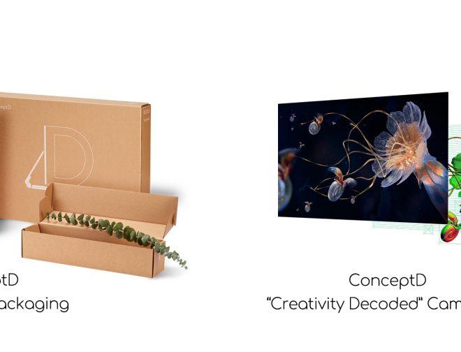 Fotos de ConceptD de Acer gana dos premios Red Dot por su marca y comunicación