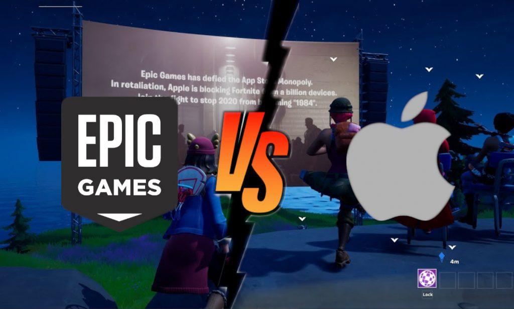 "Foto de Apple vs Epic Games: ¿Por qué Fortnite regala un ""martillo""?"