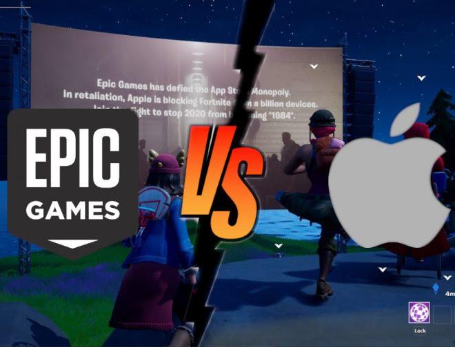 "Fotos de Apple vs Epic Games: ¿Por qué Fortnite regala un ""martillo""?"