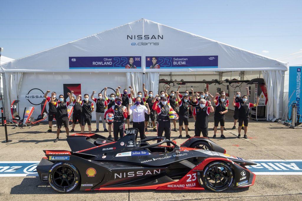 Foto de Nissan e.dams, subcampeón de la sexta temporada de la Fórmula E