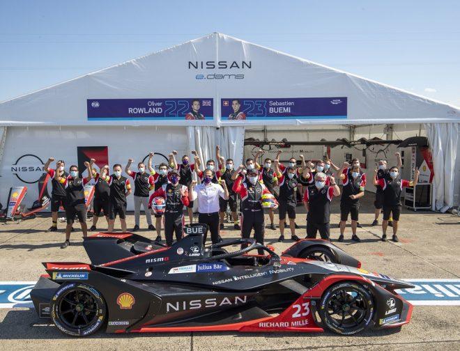 Fotos de Nissan e.dams, subcampeón de la sexta temporada de la Fórmula E