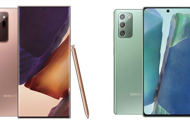Fotos de Conoce los detalles de los nuevos Galaxy Note20 y Note20 Ultra