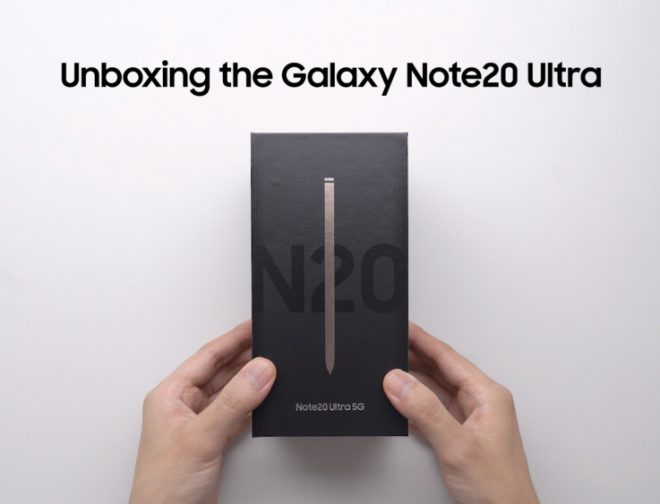 Fotos de Mira el Unboxing del Genial e Interesante Galaxy Note20 Ultra