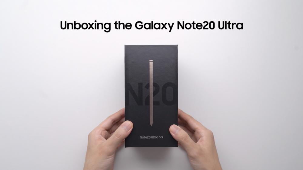 Foto de Mira el Unboxing del Genial e Interesante Galaxy Note20 Ultra