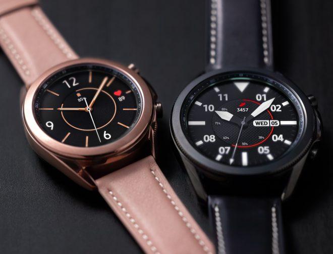 Fotos de Galaxy Watch3: Un Reloj Inteligente Atemporal y Versátil con Tecnología de Salud Avanzada