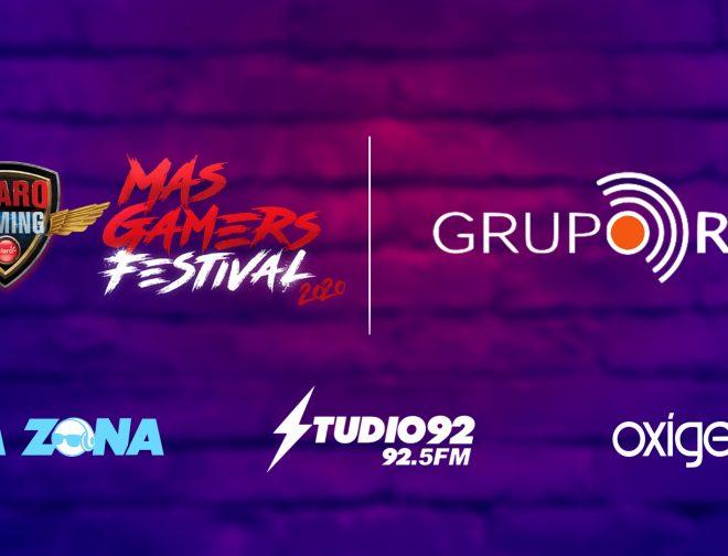 Fotos de Grupo RPP y MasGamers Aliados Nuevamente en el Claro Gaming MasGamers Festival 2020