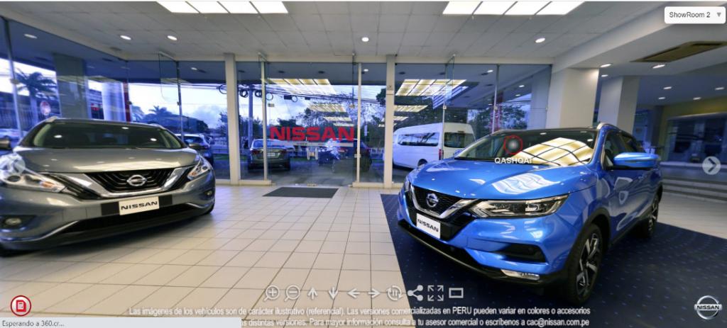 Foto de Nissan Presenta Nuevo Showroom Virtual en Perú
