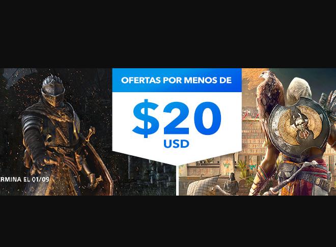 Fotos de Juegos de PlayStation 4 por Menos de $20 Dólares