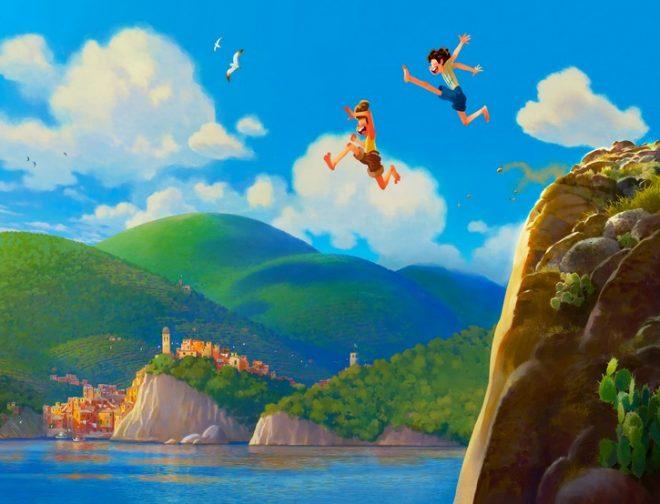 Fotos de LUCA, La Nueva Película Original de Pixar, Inspirada en la Riviera Italiana
