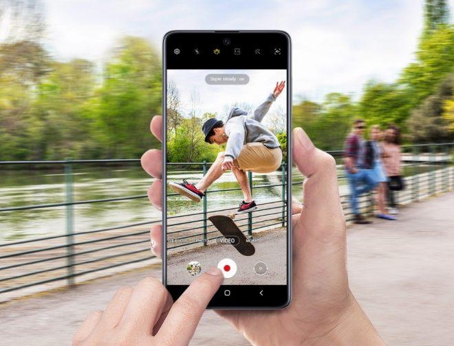 Fotos de Tecnologías premium que Samsung está incluyendo en la línea A