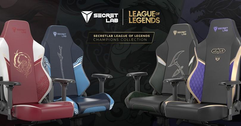 Foto de Riot Games y SecretLab nos presentan las nuevas sillas gamers de League of Legends