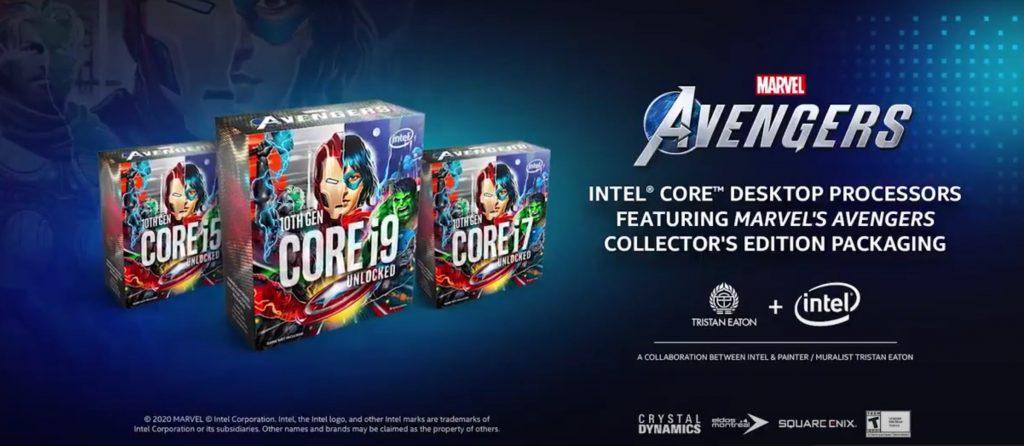 Foto de Intel y Marvel se juntan para una edición especial de los procesadores