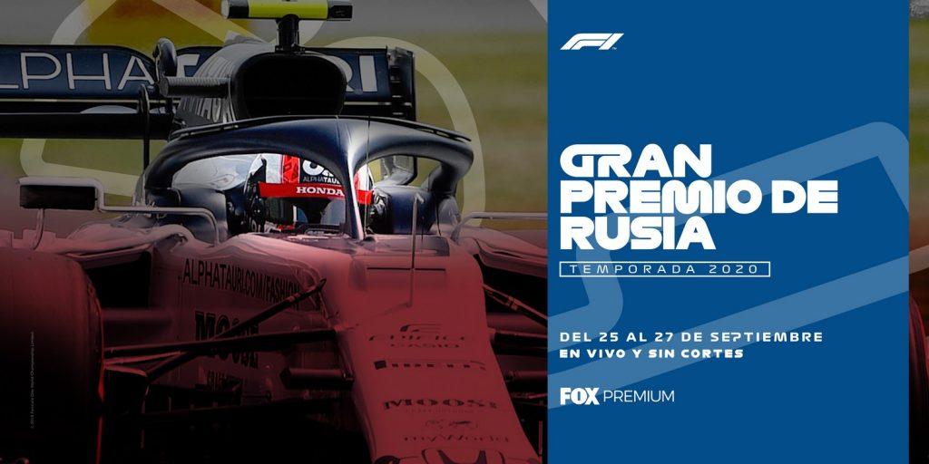 Foto de Fox Premium Transmitirá en Vivo el Gran Premio de Rusia 2020 de Fórmula 1