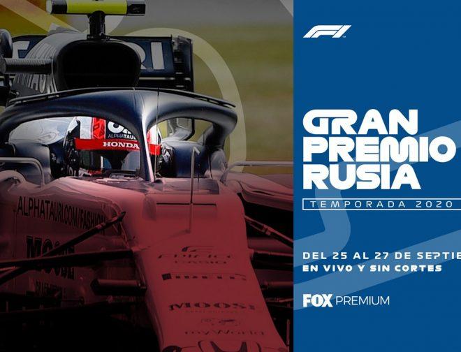 Fotos de Fox Premium Transmitirá en Vivo el Gran Premio de Rusia 2020 de Fórmula 1